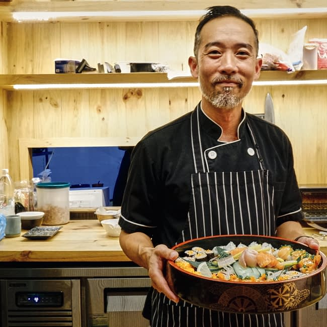 Mr Gobo from I Luv Sushi CNX