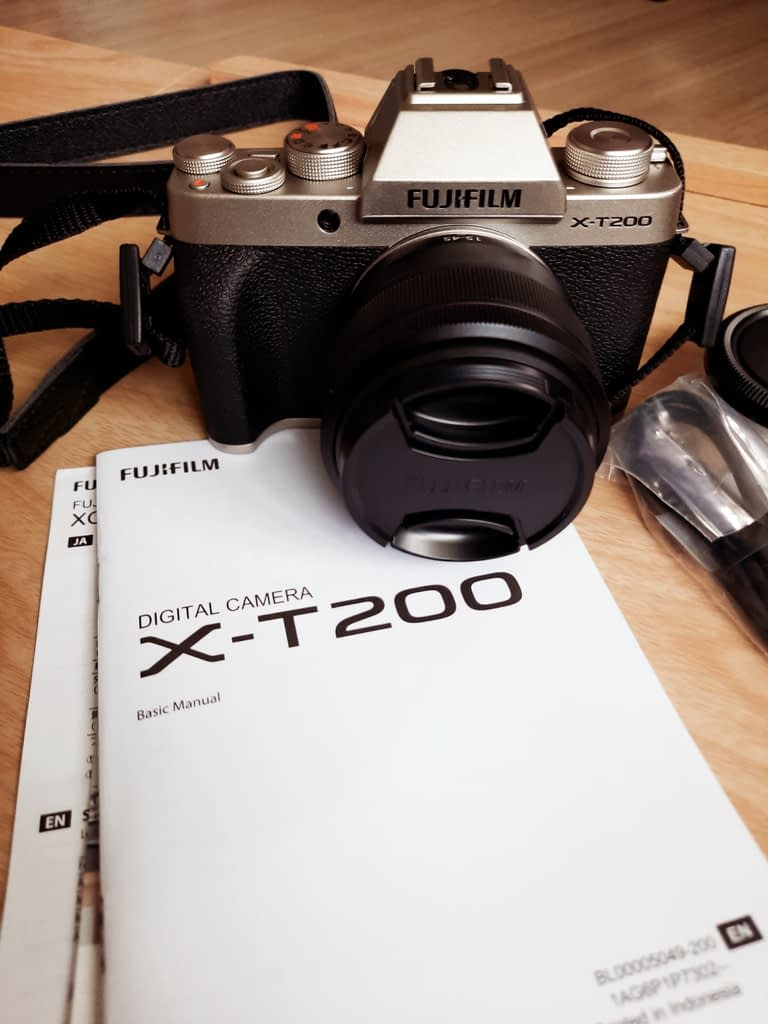 fujifilm x-t200 for beginners